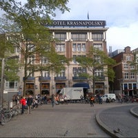 Снимок сделан в NH Collection Amsterdam Grand Hotel Krasnapolsky пользователем Andreas M. 9/20/2012