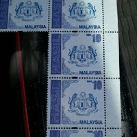 Photo taken at bintulu pos office by Mazieyah on 12/13/2012