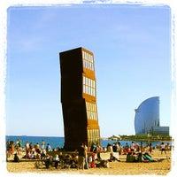 Foto tomada en Platja de la Barceloneta por David G. el 4/13/2013