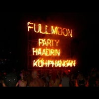 Photo taken at Full Moon Party by kazuaki y. on 2/25/2013