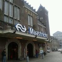 Photo taken at Maastricht Railway Station by Arnaud D. on 3/20/2013