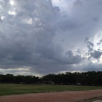Photo taken at Unidad Deportiva Talaverna by Yolis on 8/23/2013