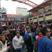 Photo taken at Kansas City Live! by David M. on 3/16/2013