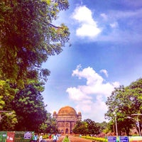 Photo taken at Gol Gumbaz by Sauman S. on 10/22/2016