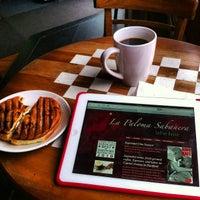 Photo taken at La Paloma Sabanera Coffeehouse by Topher P. on 5/8/2013