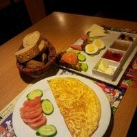 Photo taken at Alins Cafe Restaurant by Nurettin ö. on 2/10/2013