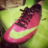 Photo taken at The Hattrick Football Club by Patompol P. on 2/24/2014