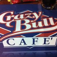 Photo taken at Crazy Bull by Gabriella G. on 8/28/2013