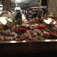 Photo taken at Fin Restaurant & Raw Bar by David on 11/4/2012