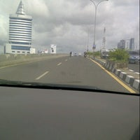 Photo taken at Flyover Urip Sumoharjo by hendra p. on 2/6/2013