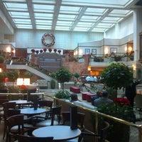 Photo taken at Washington Court Hotel by Lizzie C. on 12/14/2012
