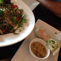 Photo taken at Naviya's Thai Brasserie by Amy A. on 8/19/2013