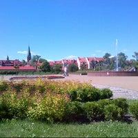 Photo taken at Plac Jana Pawała II by Marcin T. on 6/12/2013