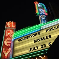 Photo taken at El Rey Theatre by Peter G. on 7/25/2013