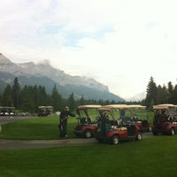 Photo taken at Canmore Golf & Curling Club by Aydin O. on 8/1/2013