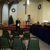 Photo taken at Cypress Trails United Methodist Church by Michael D. on 12/2/2012