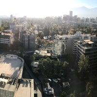 Photo taken at Hyatt Place Santiago/Vitacura by Rafael A. on 4/3/2017