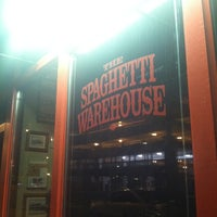 Photo taken at Spaghetti Warehouse by Sydney on 10/21/2012