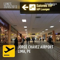 Photo taken at Jorge Chávez International Airport (LIM) by Sergio G. on 5/20/2013