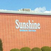 Photo taken at Sunshine Uniform Service by Brian E. on 2/5/2013