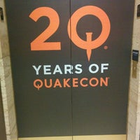 Photo taken at QuakeCon Registration by Julius M. on 7/22/2015