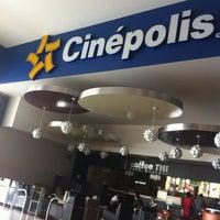 Photo taken at Cinépolis by Alex on 12/11/2012