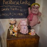 Photo taken at Czerw's Kielbasa by Damian P. on 12/12/2013