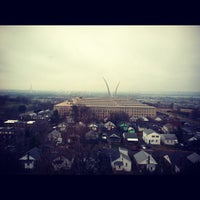 Photo taken at Sheraton Pentagon City Hotel by Johnika D. on 12/9/2012