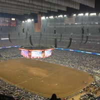 Photo taken at Houston Livestock Show and Rodeo by Ashley on 3/16/2013