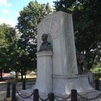 Photo taken at John Boyle O'Reilly Monument by Totsaporn I. on 7/27/2013