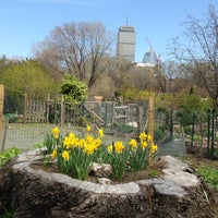 Photo taken at Fenway Victory Gardens by Totsaporn I. on 4/27/2013