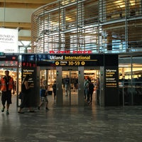 Photo taken at Oslo Airport (OSL) by Olja F. on 7/23/2013