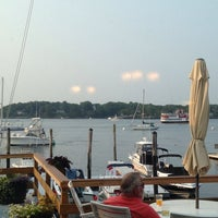 Photo taken at Portsmouth Yacht Club by Sheila on 7/25/2014