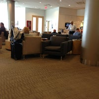 Photo taken at Delta Sky Club by Jim M. on 2/7/2013