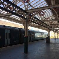 Photo taken at Aberystwyth Railway Station (AYW) by Nureen H. on 4/5/2017
