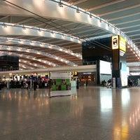 Photo taken at Terminal 5 by Anton B. on 3/8/2013