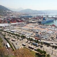 Photo taken at Porto di Salerno by Anton B. on 6/20/2013