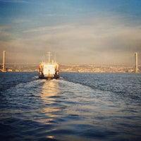 Photo taken at Besiktas - Uskudar Boat by Ali M. on 12/9/2012