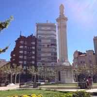 Photo taken at Plaza de la Inmaculada by Siertxo on 5/25/2013