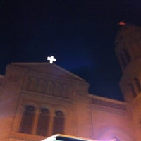 Photo taken at St. Mark's Church by abeer on 1/31/2013