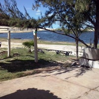 Photo taken at Lagoa do Portinho by Amanda N. on 7/15/2013