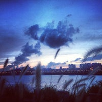 Photo taken at Han River by Анастасия on 8/15/2013
