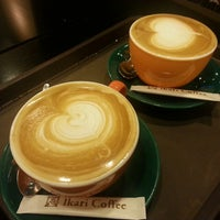 Photo taken at 怡客咖啡 Ikari Coffee by Norihiro H. on 11/22/2013