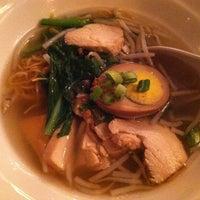 Photo taken at Zoob Zib Thai Noodle Bar by Stefanie V. on 2/5/2013