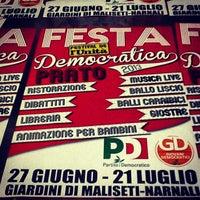 Photo taken at Circolo Pd Mezzana by PDPrato on 6/18/2013