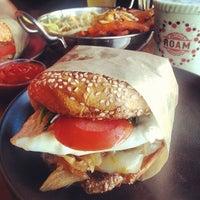 Photo taken at Roam Artisan Burgers by Julie T. on 7/5/2013