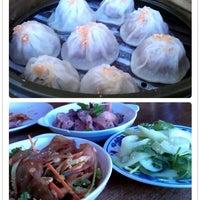 Photo taken at Shanghai Dumpling King by Julie T. on 11/3/2012