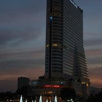 Photo taken at Millennium Hilton Bangkok by Ralf on 12/20/2012