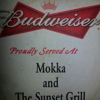 Photo taken at Mokka and the Sunset Bar & Grill by Tom W. on 1/11/2015