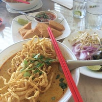 Photo taken at Sri Siam Cafe by Jessica L. on 6/25/2014